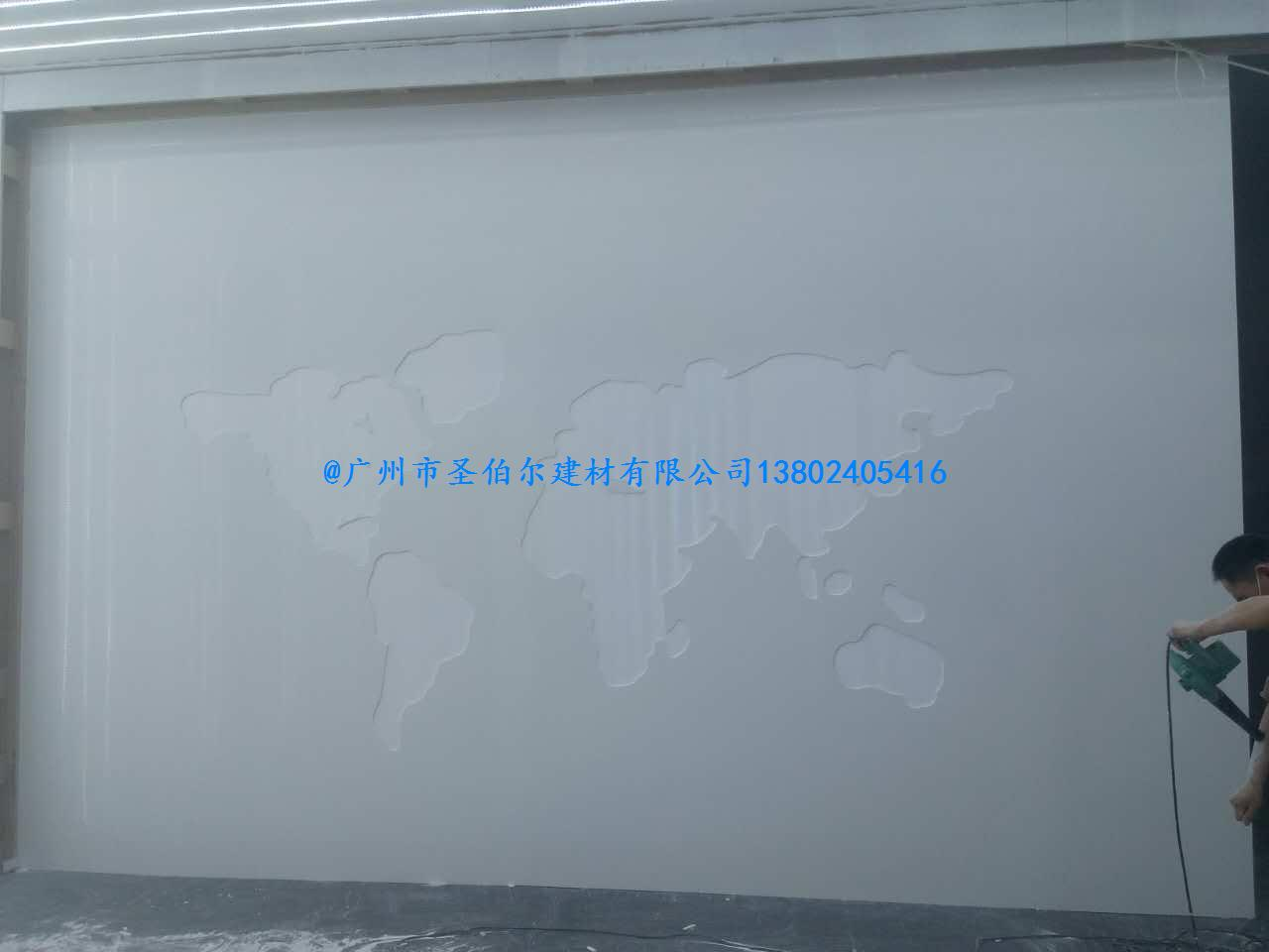 人造石创意家居的广泛运用——背景墙
